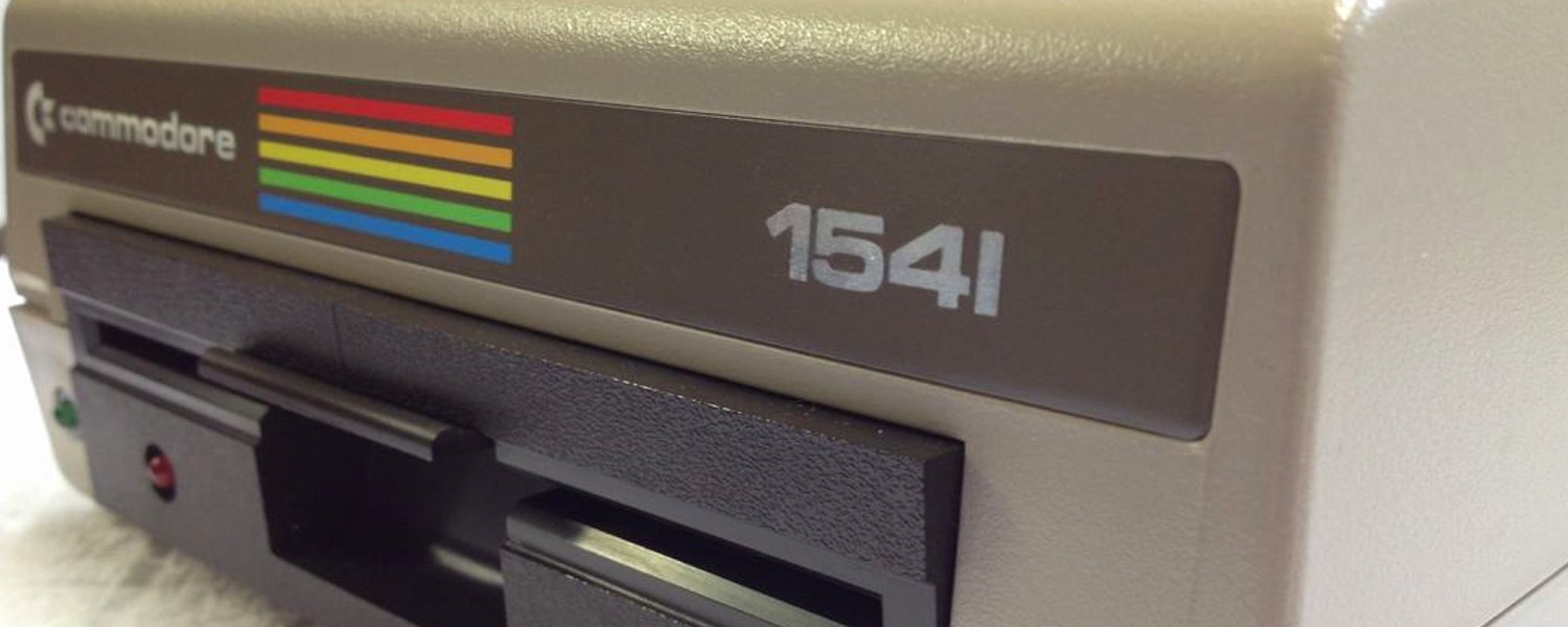 Commodore 1541 Diskette drive with JiffyDOS installed