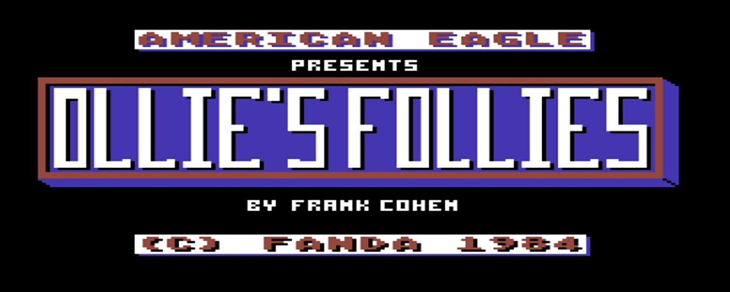 Commodore 64 Ollie's Follies game review on breadbox64.com including a walkthrough video