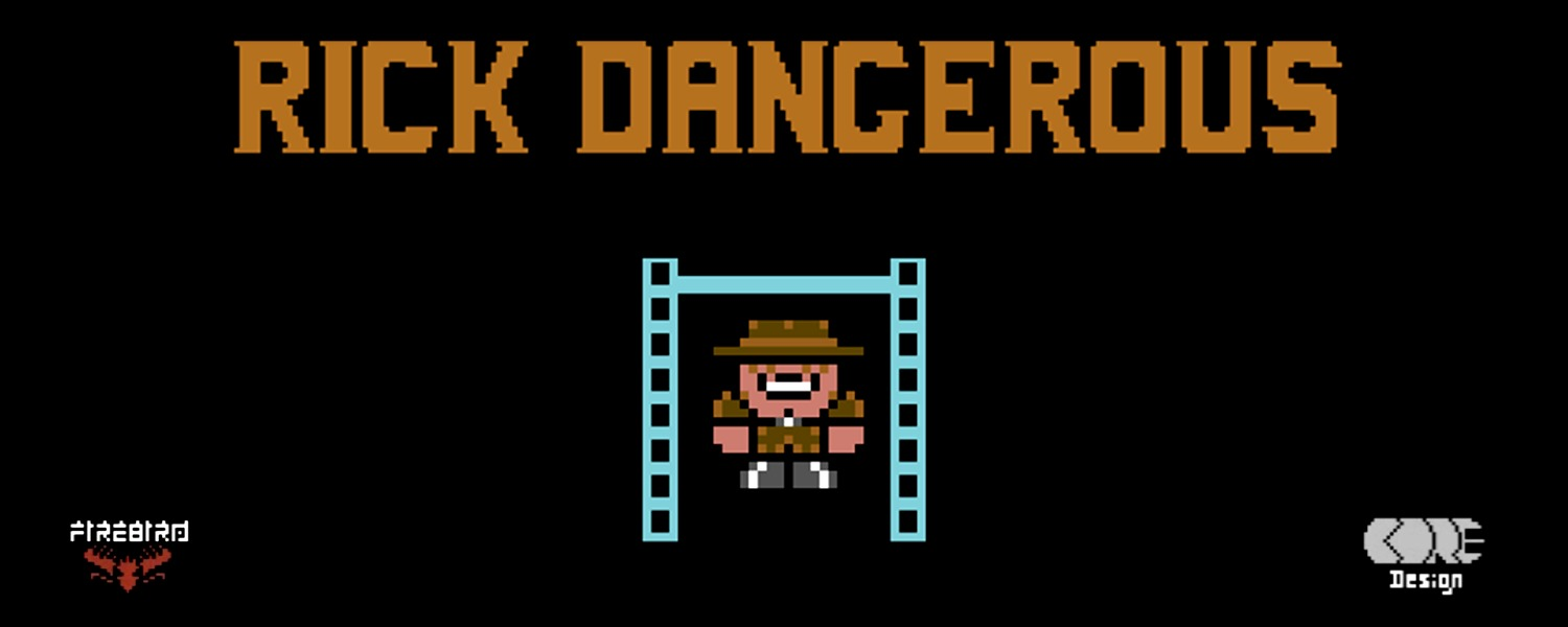 Commodore 64 Rick Dangerous game review on breadbox64.com including walkthrough video
