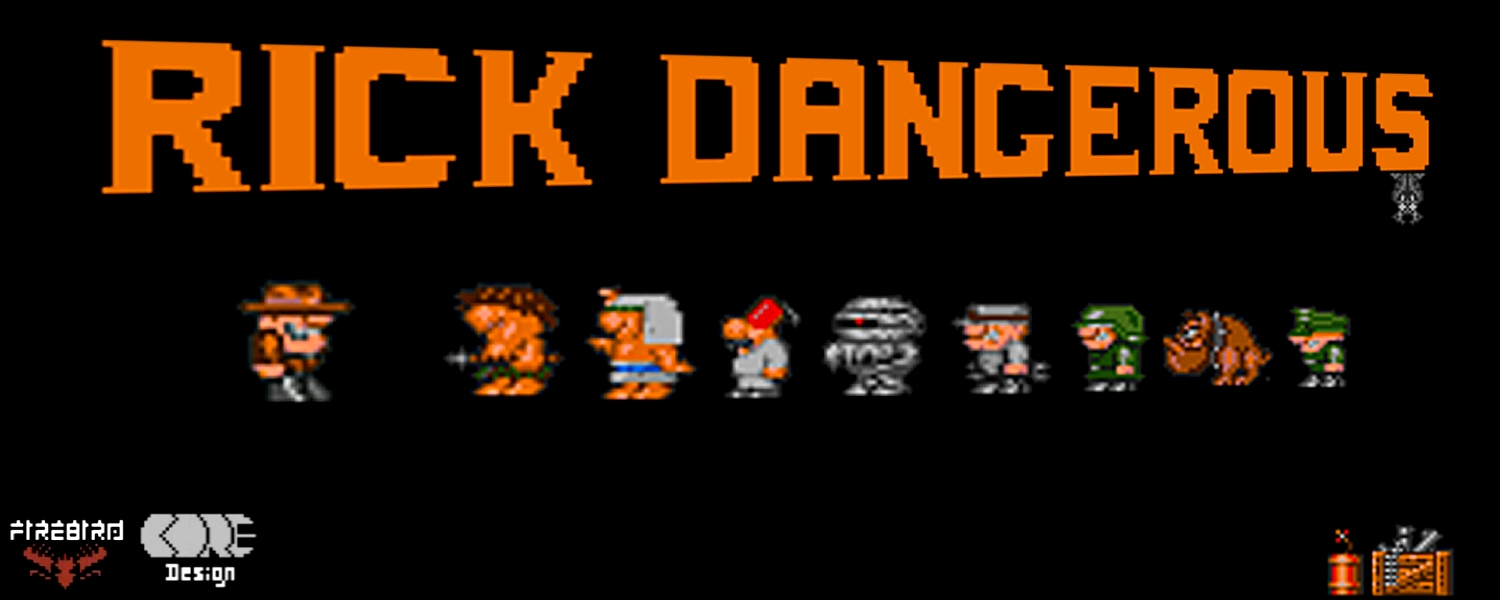 Commodore 64 Rick Dangerous game review on breadbox64.com