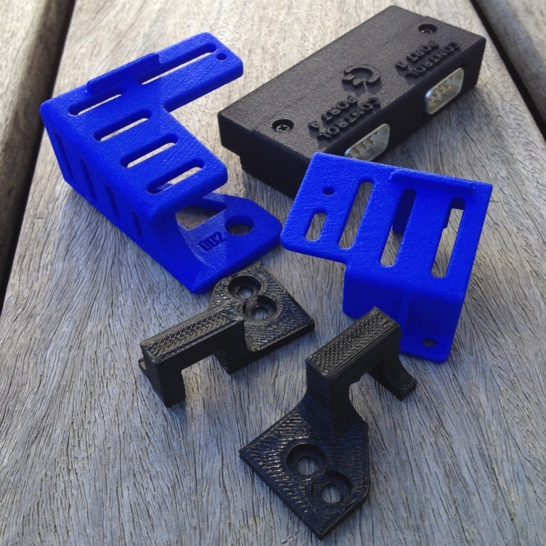 3D prints for the Commodore 64. Individual Computers 4 player joystick adapter, Commodore 64C keyboard mounts and C64 Reloaded Power Plug Plate