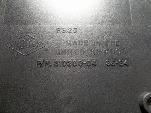 Commodore 64 power supply no. 310200-04 black version