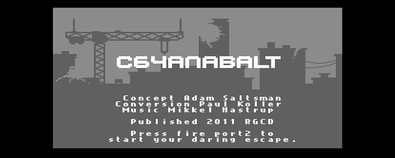 Commodore 64 C64anabalt game review with in-game video and final verdict