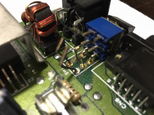 Assy 250469 Rev. 4 with a broken power switch. How to replace the power switch can be seen here.