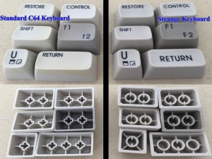 Commodore 64C keyboard with a different look.