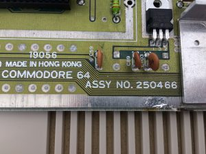 C64 Hardware / Commodore 64C / Assy 250466