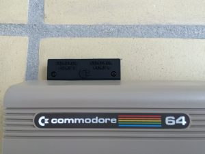 Commodore 64 4 player adapter from Individual Computers. Read more on breadbox64.com