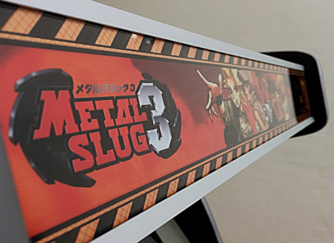 Metal Slug inspired arcade machine with Pandora's Box 3 JAMMA arcade games