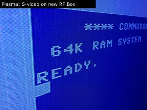 C64C RF Box Mod