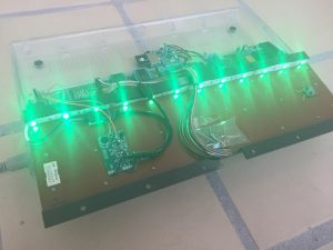 Commodore 64C RGB diode LED flashing light mod. breadbox64.com