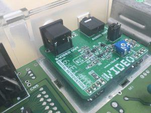 New RF modulator box for the Commodore 64.. Super VIDEO print. breadbox64.com