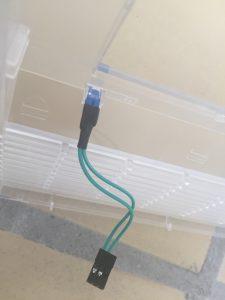 Commodore 64 power LED mod. breadbox64.com