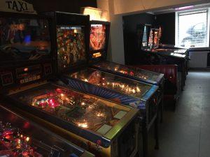 Pinball machines at BIp BIP Bar Arcade. Read the review on breadbox64.com