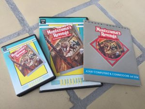 C64 collection of Montezuma's Revenge games. breadbox64.com