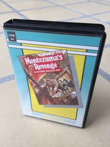 Montezuma's Revenge for the Commodore 64 on tape. breadbox64.com