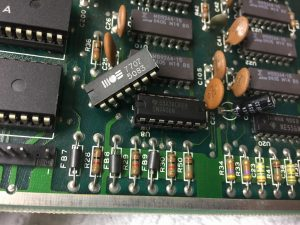 Commodore 64 Serial port error. Repair job. breadbox64.com