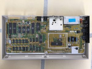 Commodore 64 assy 250425 revision B yellow motherboard