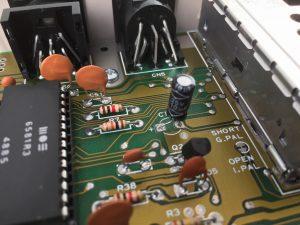 Commodore 64 new electrolytic capacitors