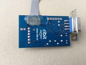 Commodore 64 wireless joystick. JoyFi wireless c64 connection. breadbox64.com