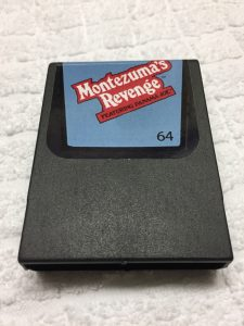 Montezuma's Revenge on Commodore 64 cartridge C64. breadbox64.com
