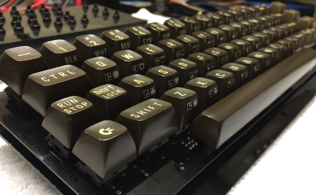 New Commodore 64 keyboards. breadbox64.com