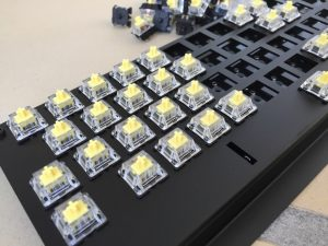 New Commodore 64 keyboard with microswitches. breadbox64.com