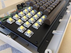 The MechBoard64. Cherry Locking switch. Mechanical keyboard. breadbox64.com