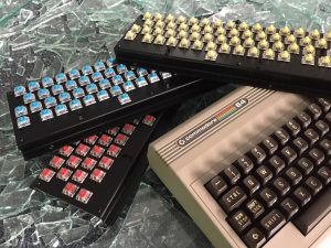 New Commodore 64 keyboards. MechBoard64 with Gateron switches. breadbox64.com