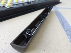 Commodore 64 keyboard stabilizers. MechBoard64. breadbox64.com.