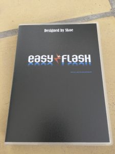 Commodore 64 EasyFlash cartridge.in a Universal Game case
