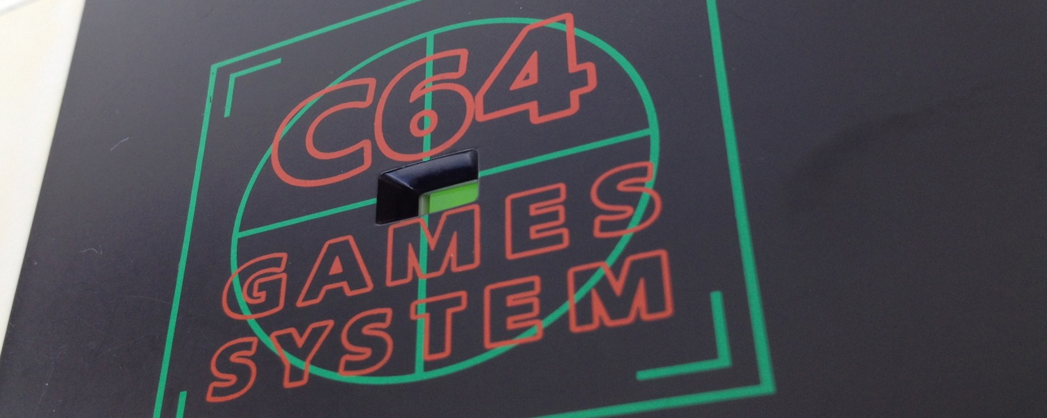 Commodore 64 Games System image of LED