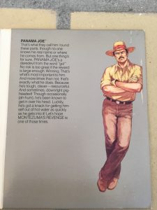 Montezuma's Revenge featuring Panama Joe from the Parker Brothers C64 diskette game