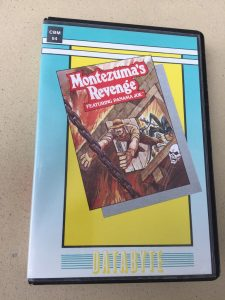 Commodore 64 Montezuma's revenge on tape from Databyte