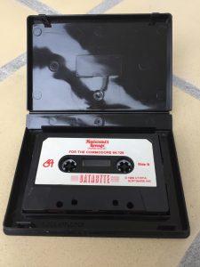 Commodore 64 Montezuma's revenge on tape from Databyte