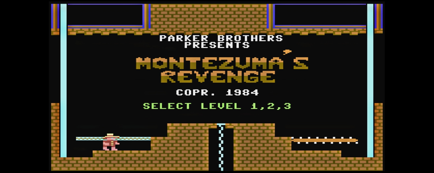 Commodore 64 Montezuma's Revenge game review with walkthrough video