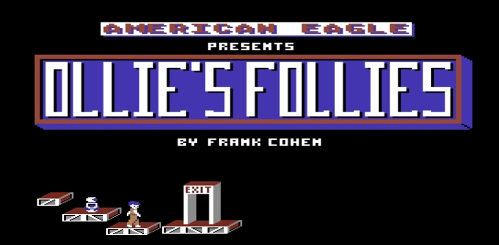 Commodore 64 Ollie's Follies game review on breadbox64.com