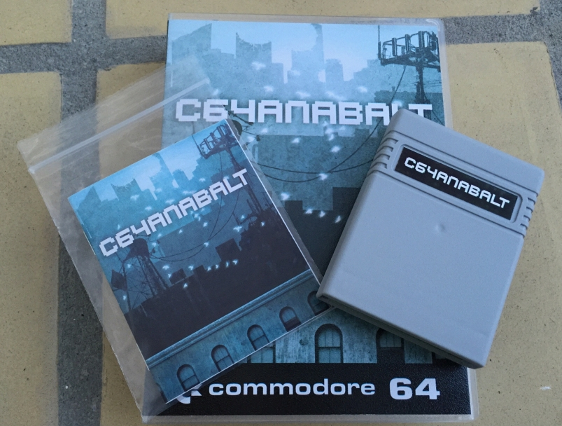Commodore 64 C64anabalt cartridge game released by rgcd. Game review here on breadbox64.com