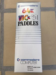 Commodore 64 & Vic 20 Game Paddles review on breadbox64.com