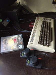 Commodore 64 Panic Analogue cartridge game from RGCD.co.uk. In-game obstacles from the game review on breadbox64.com. Made by Goin' Sideays. Gaming setup.