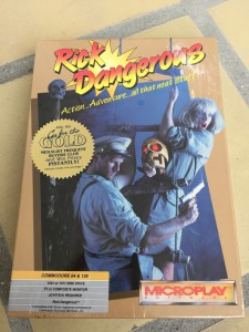 Commodore 64 Rick Dangerous game on breadbox64.com