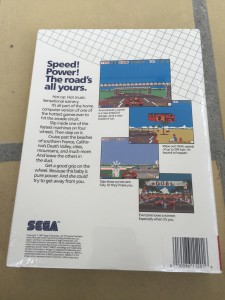 Commodore 64 Sega Out Run game on breadbox64.com