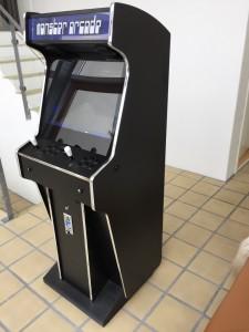 Monster Arcade Senior MAME arcade machine running GameEx frontend software.