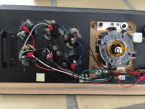 MAME control panel. Wire mess.