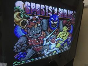 EasyFlash game cartridge with Ghost 'n Goblins game