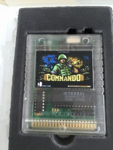 EasyFlash cartridge with Commando Arcade game