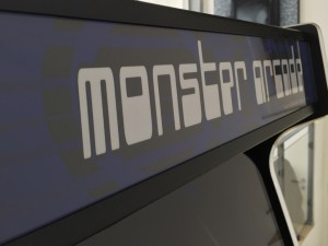 Monster Arcade MAME arcade machine.