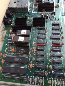 Commodore 64 Danish Keyboard layout from 'Expert Radiohuset'. Original PCB's made for a Danish company. See more on breadbox64.com