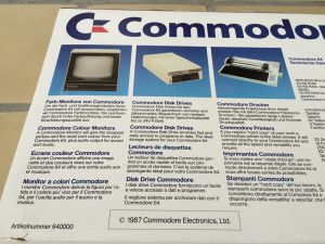 Commodore 64 case for an Assy 250466 motherboard from 1986. See more pictures on www.Breadbox64.com