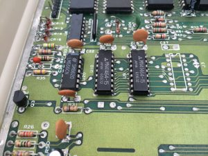 Commodore 64 Version B-3 motherboard, Assy 250466. Read more on www.breadbox64.com