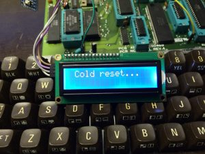 Commodore 64 reset system using an Arduino Pro Mini and a LCD to display number of resets sinde last power-up. Read more on breadbox64.com including the source code for the project.